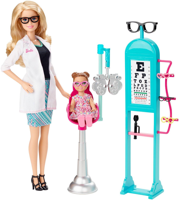 Barbie Careers Eye Doctor Playset - Toy Recs
