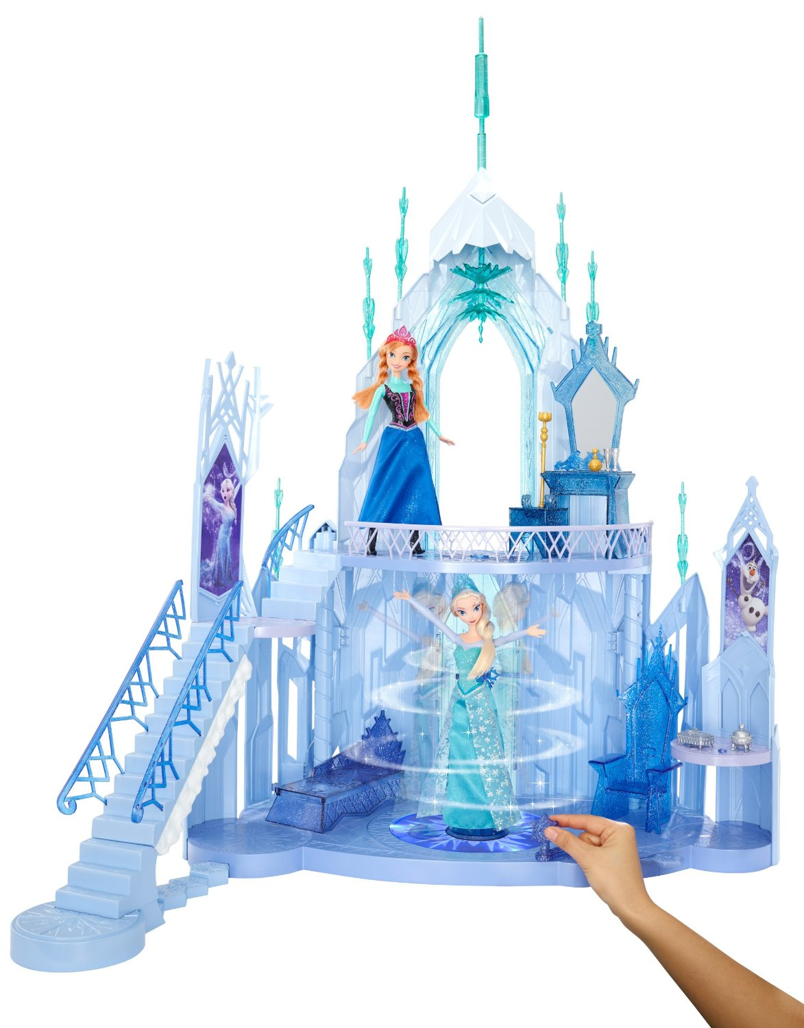 frozen elsa ice palace