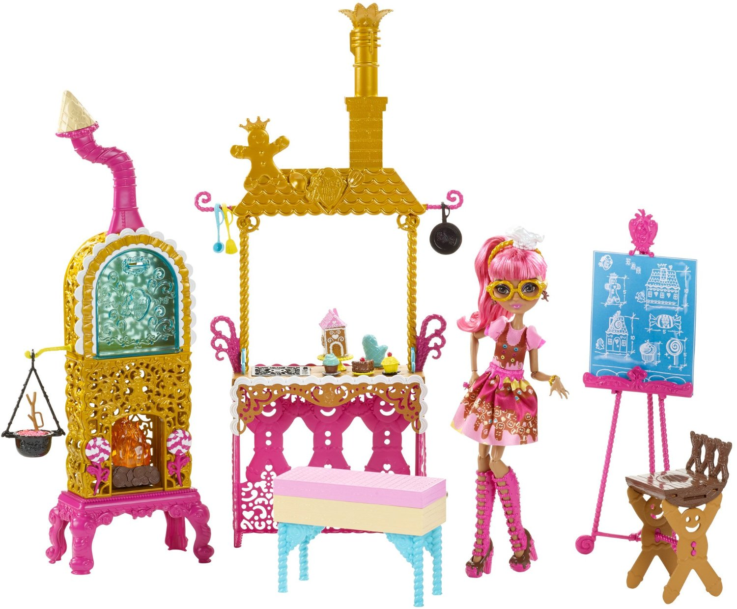 sugar coated kitchen playset