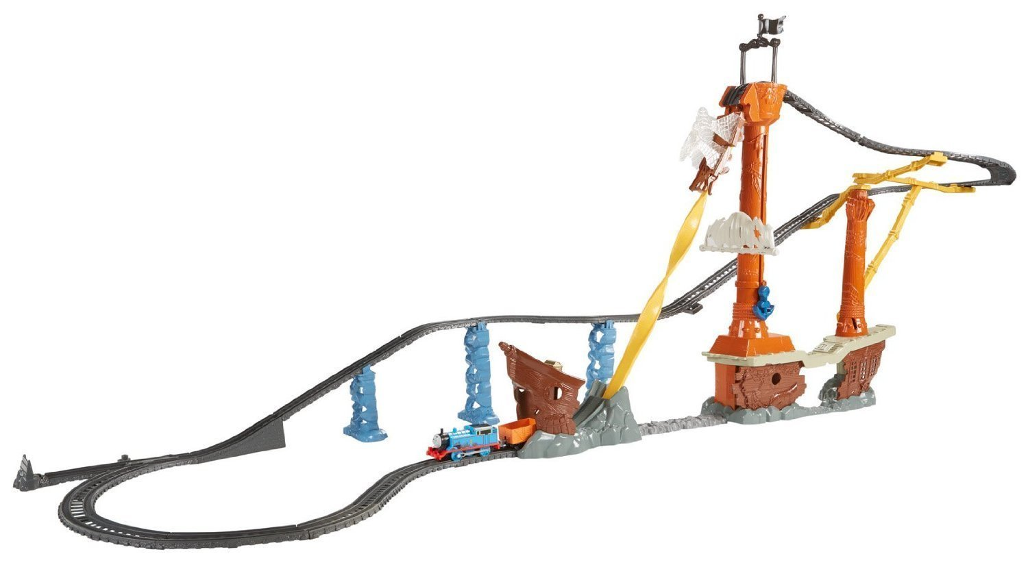 thomas the train trackmaster shipwreck